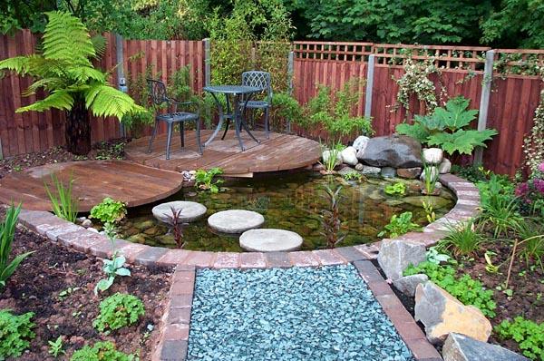 Inspirace pro mal zahradn jez rka doltak for Beautiful small ponds